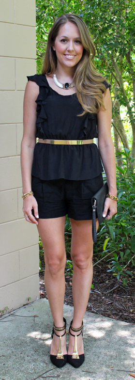 Create your own romper using pieces you already have