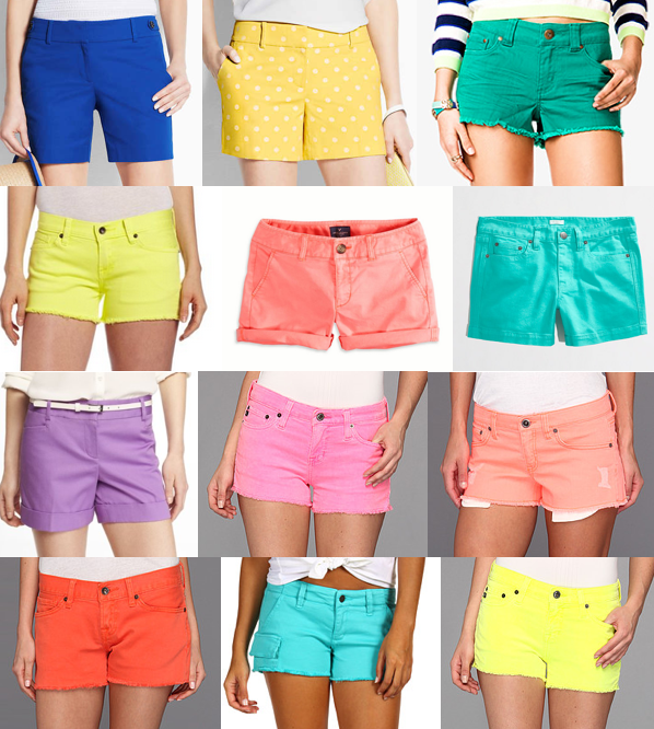 Colorful shorts under $60
