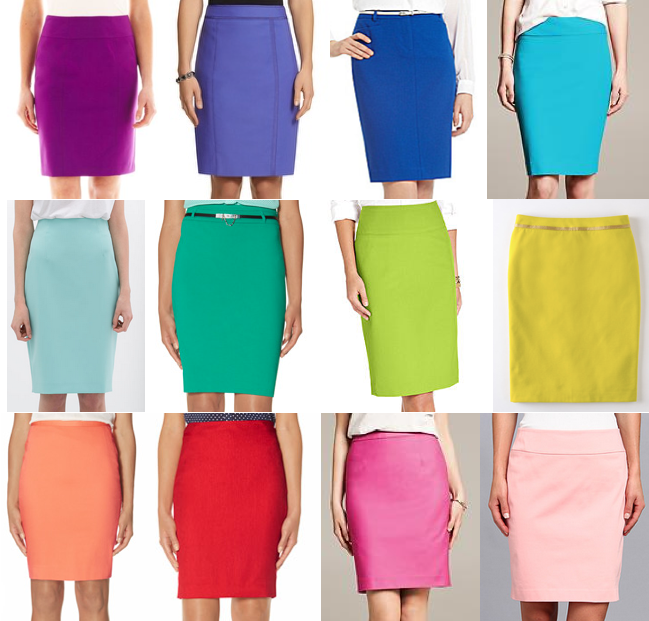 Pencil skirts under $100