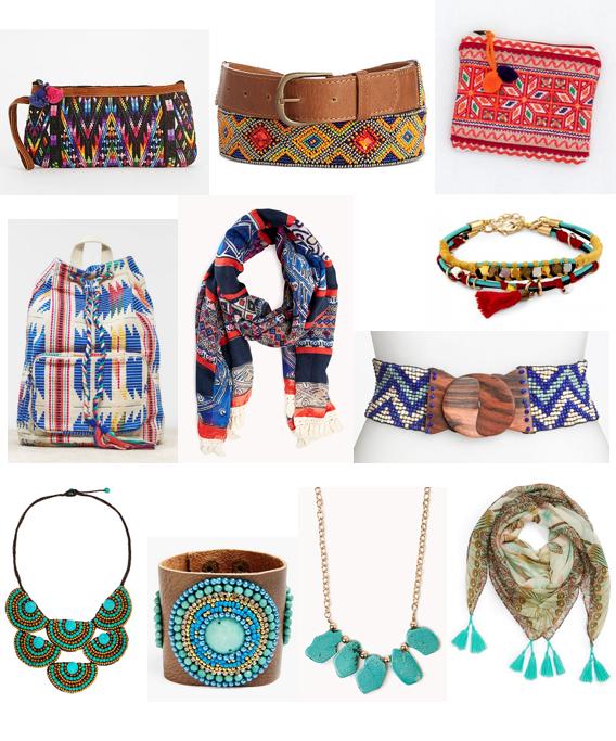 Boho accessories under $100