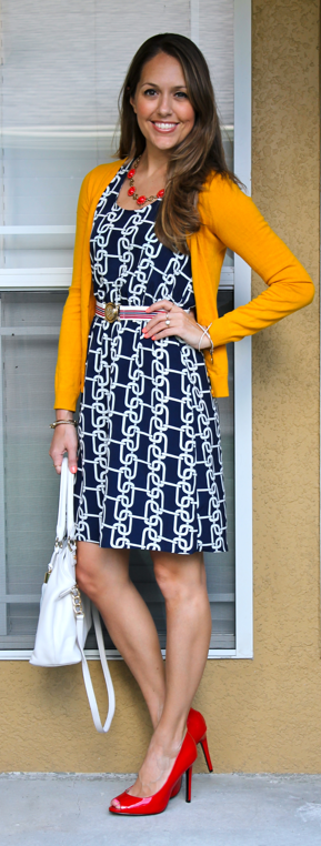 Primary colors nautical outfit idea