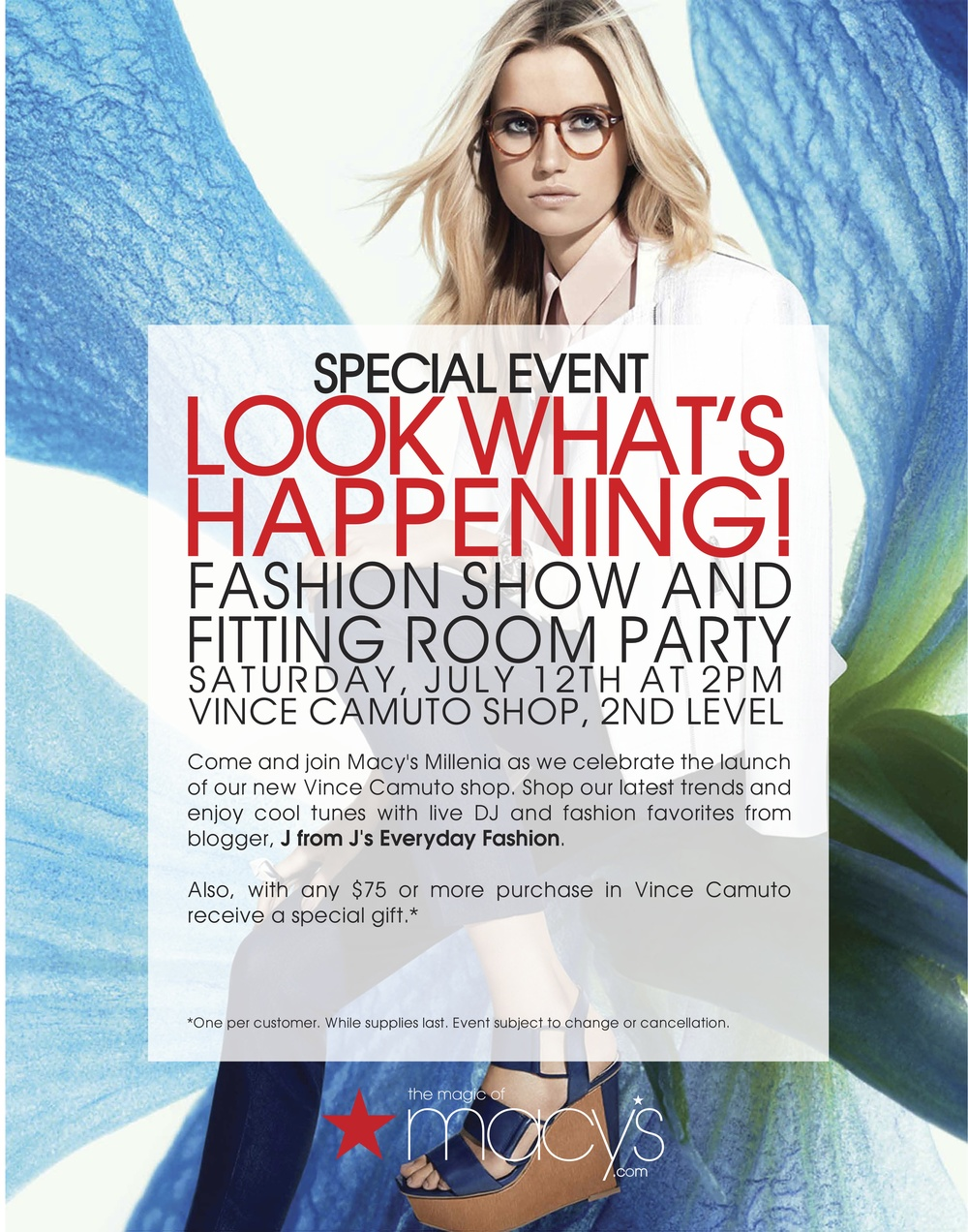 jseverydayfashion Macy's and Vince Camuto event
