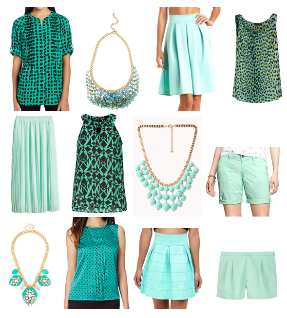 Shades of green shopping