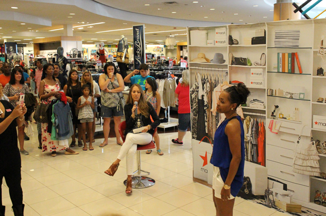 Macy's Vince Camuto event hosted by J's Everyday Fashion