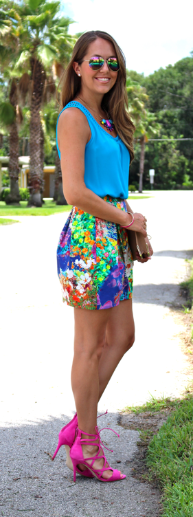 Colorful outfit idea