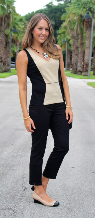 Ann Taylor sale top and pants