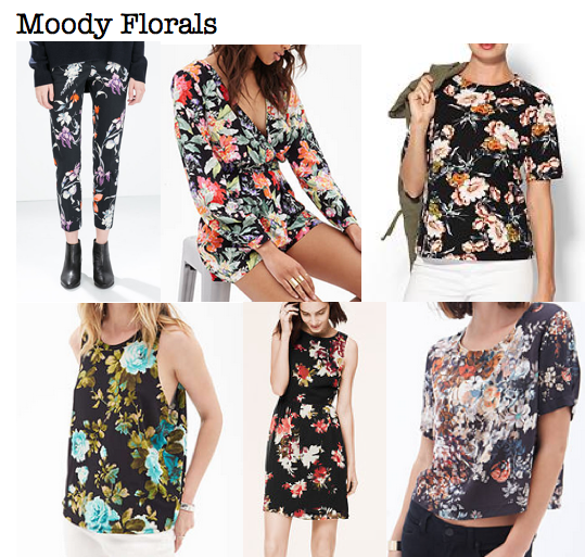 Fall 2014 trends: moody florals