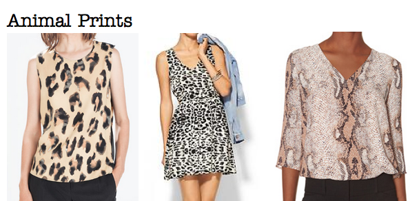 Fall 2014 trends: animal prints