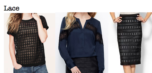 Fall 2014 trends: lace