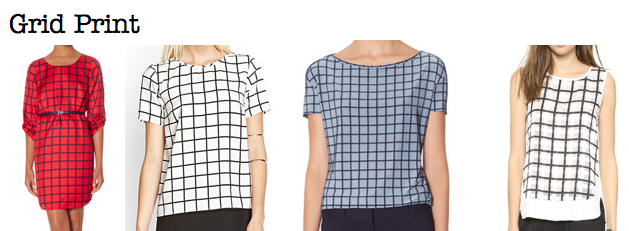 Fall 2014 trends: grid print