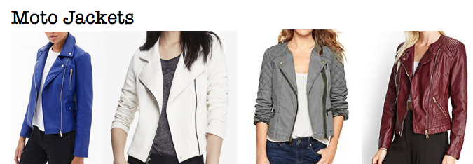 Fall 2014 trends: moto jackets