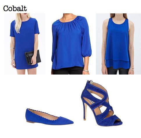 Fall 2014 trends: cobalt
