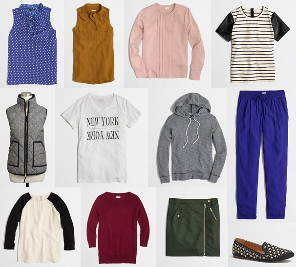 J.Crew Factory fall new arrivals