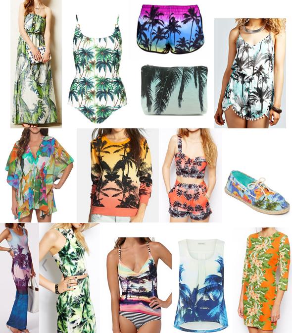 Shop palm prints on a budget