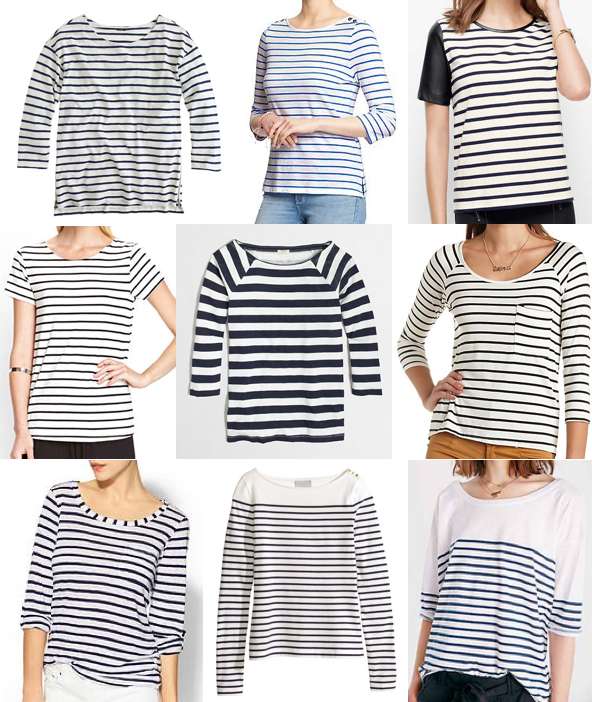 Striped tops under $50
