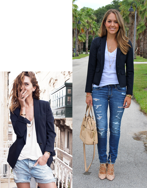 Today's Everyday Fashion: The Navy Blazer — J's Everyday ...