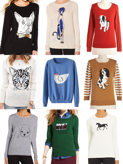 Novelty sweaters under $100