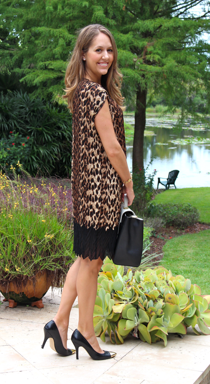 HSN cocoon dress with HSN purse