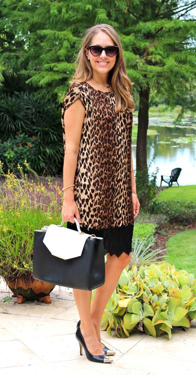 HSN leopard dress