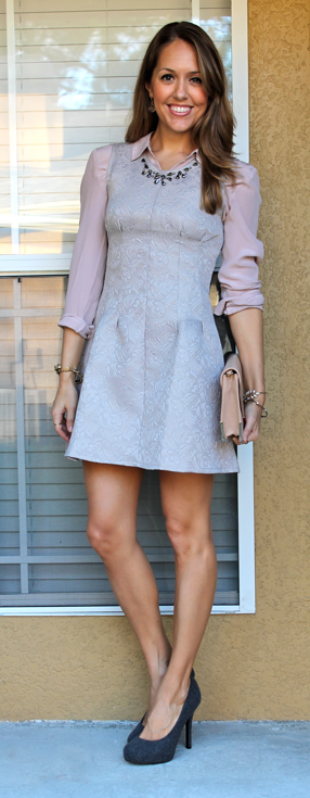 Today's Everyday Fashion: 6 Ideas For Layering Dresses