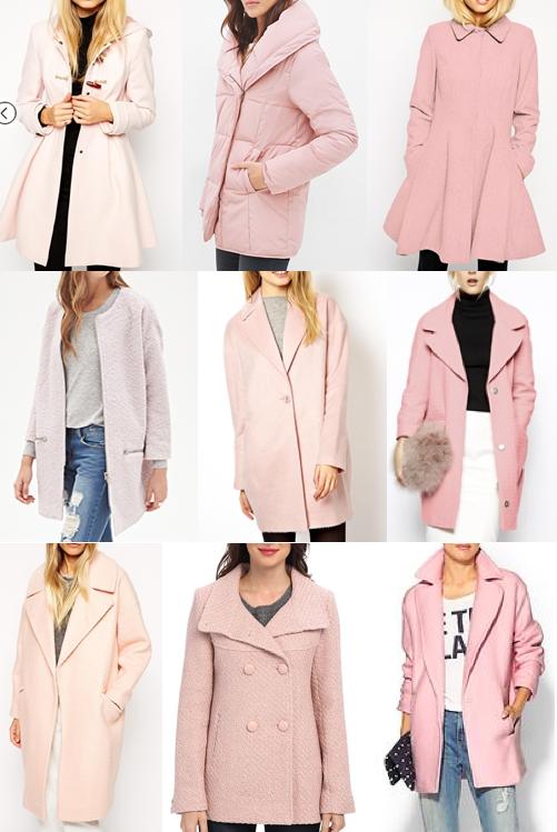 Pink coats under $150
