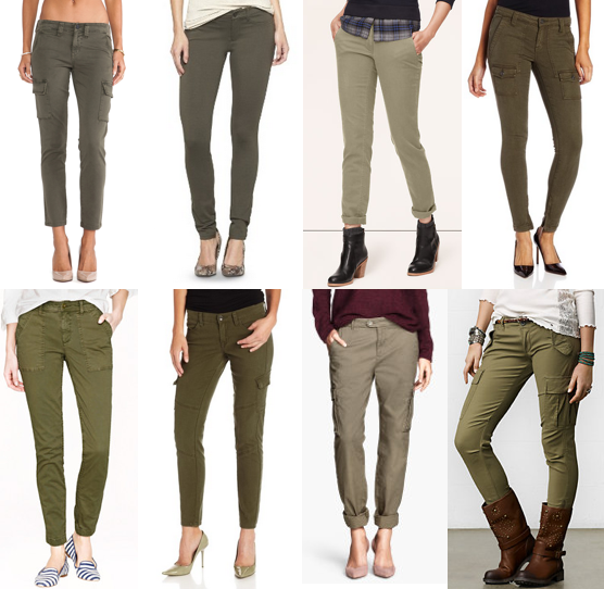 Green military pants under $100