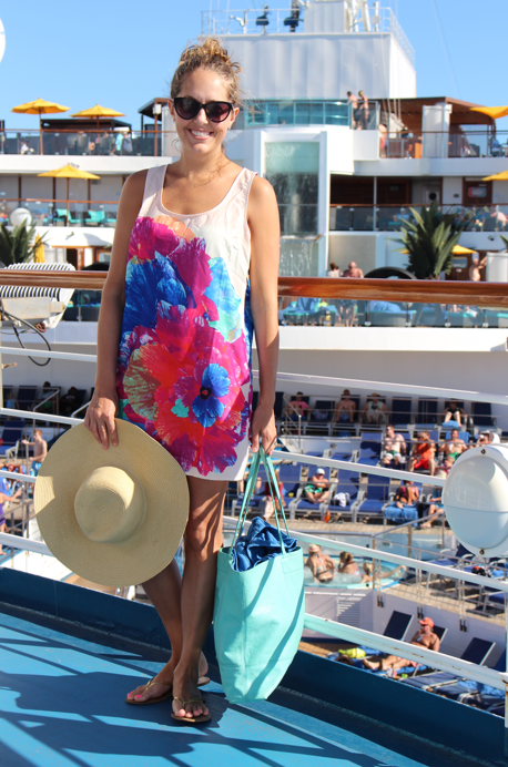 Carnival Sunshine at sea day outfit