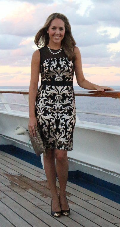 Cruise ship formal night outfit