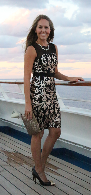 Cruise diary what i wore part 1 j 39 s everyday fashion for Wedding dresses for cruise ship
