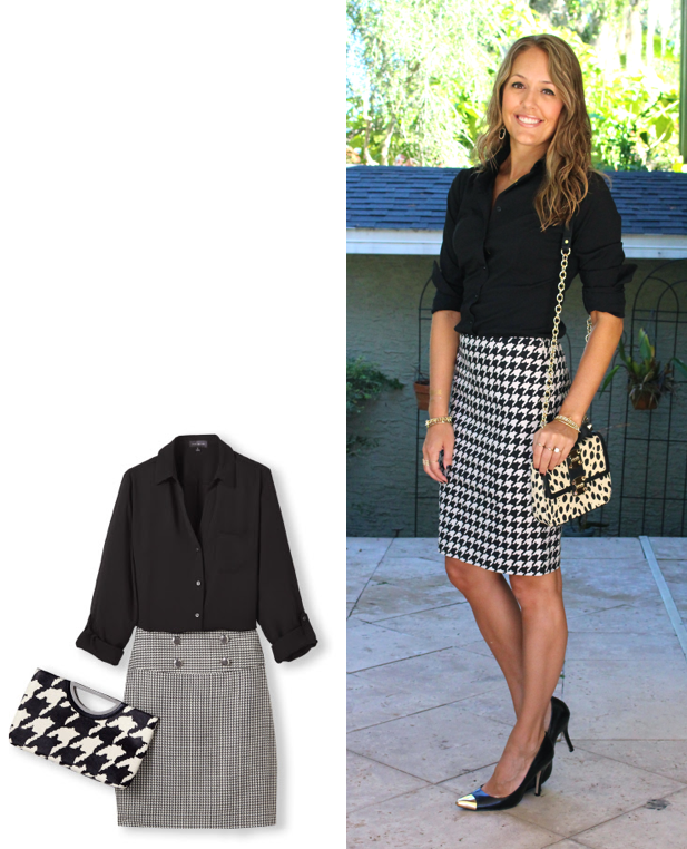Inspiration: Limited  TOP  /  SKIRT  /  CLUTCH