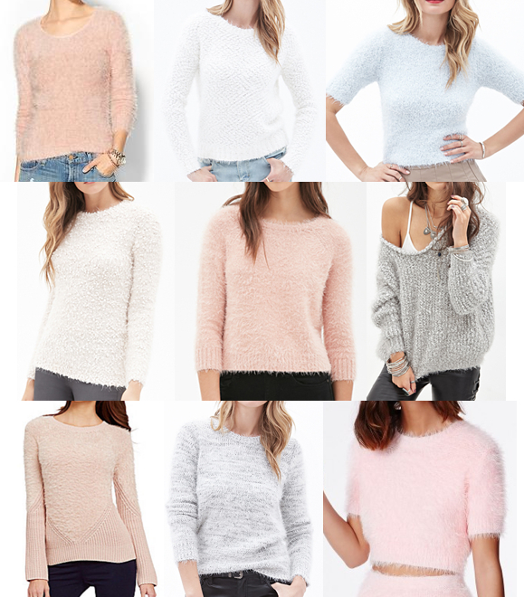 Eyelash knits on a budget