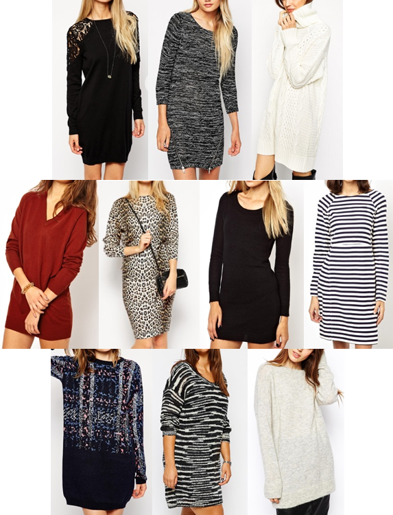 ASOS sweater dresses on a budget
