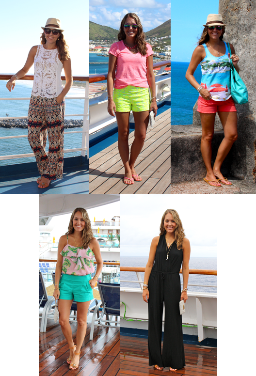 How To Pack For A Cruise  J39s Everyday Fashion