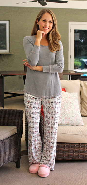 Soma for Chicos Long-Sleeve Pajama Set - Chicos