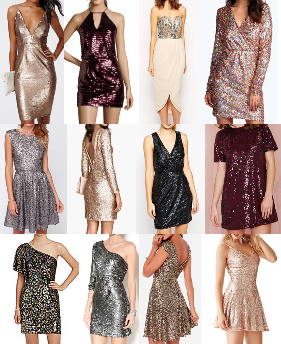 Sequin dresses under $120