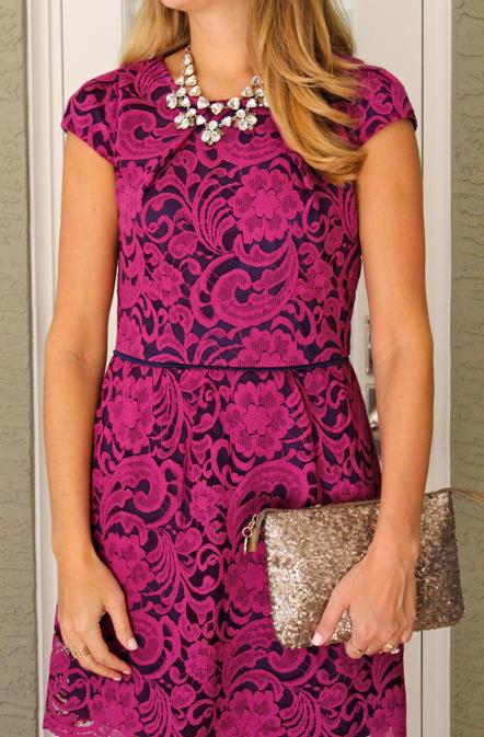 Hazel & Olive $22 lace dress via J's Everyday Fashion
