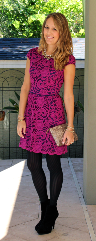 $22 lace dress from Hazel & Olive