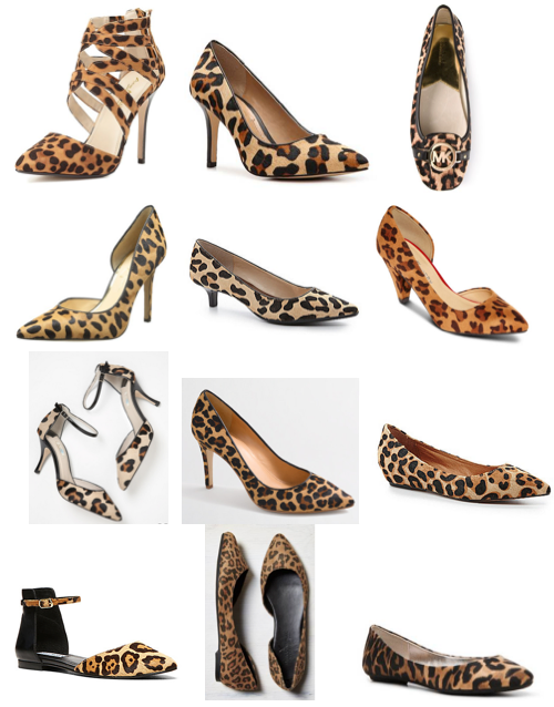 Leopard shoes under $100