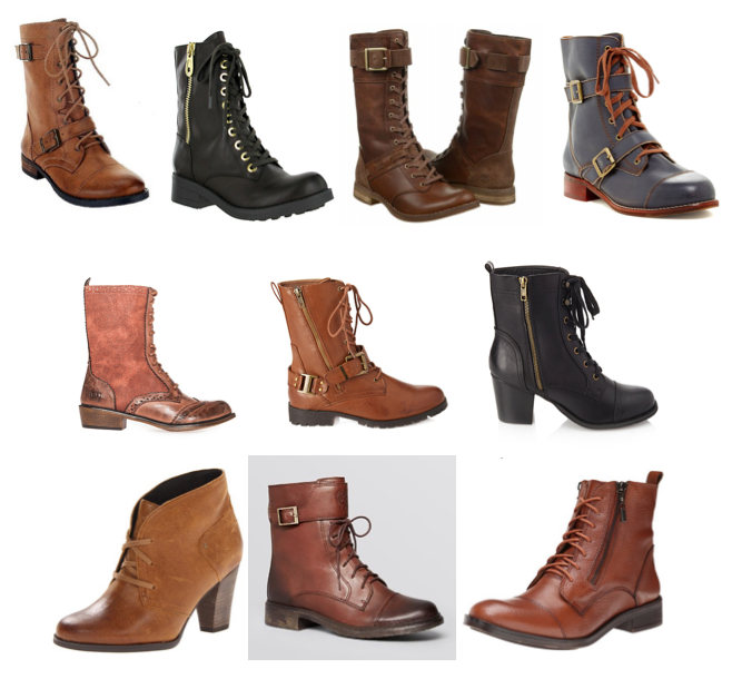Lace up boots on a budget