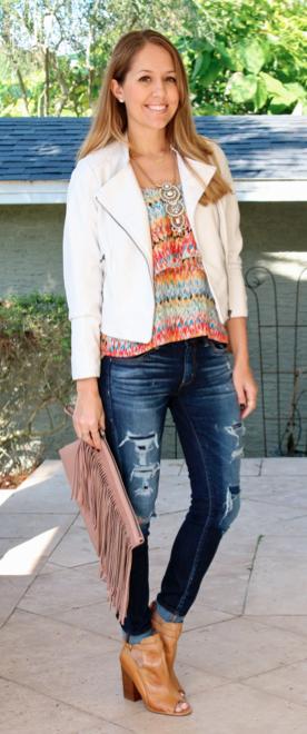 HSN jacket, clutch - look #1 of 2