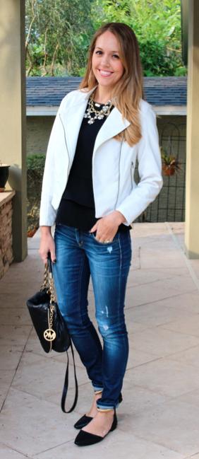 HSN jacket, shoes - styled 2 ways