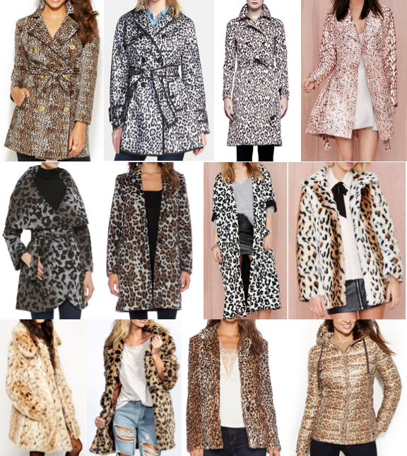 Leopard coats on a budget