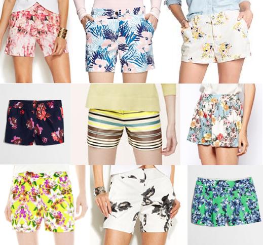 Printed shorts under $50