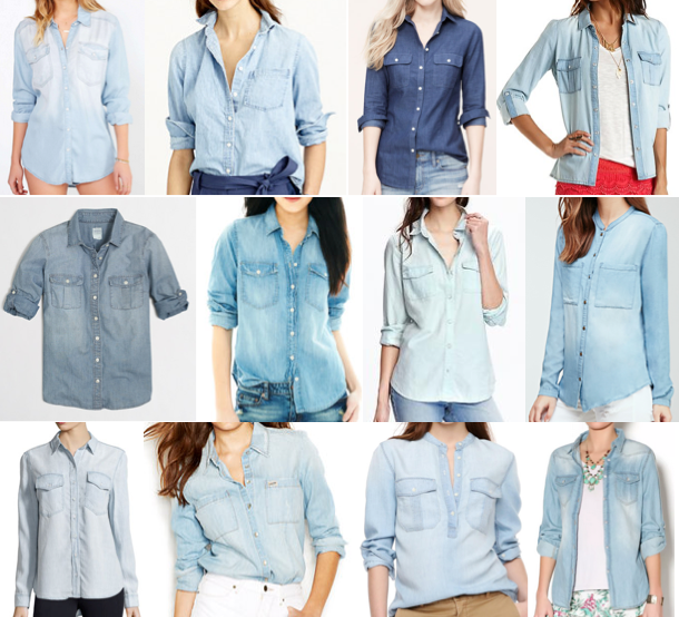 Chambray on a budget