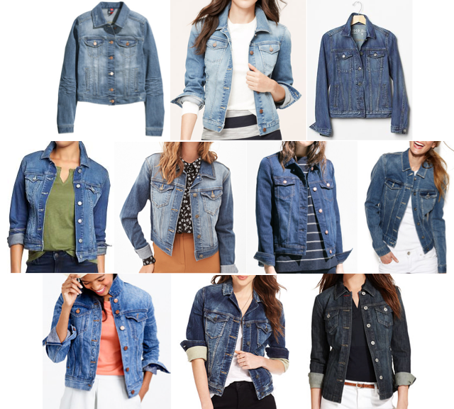 Denim jackets on a budget