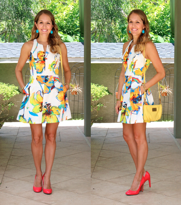 "Milly ""Pop Art"" Dress - J's Everyday Fashion"