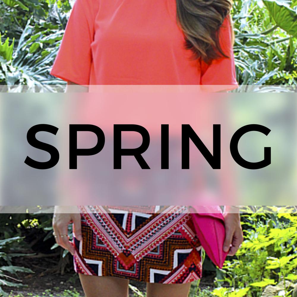 J's Spring Fashion