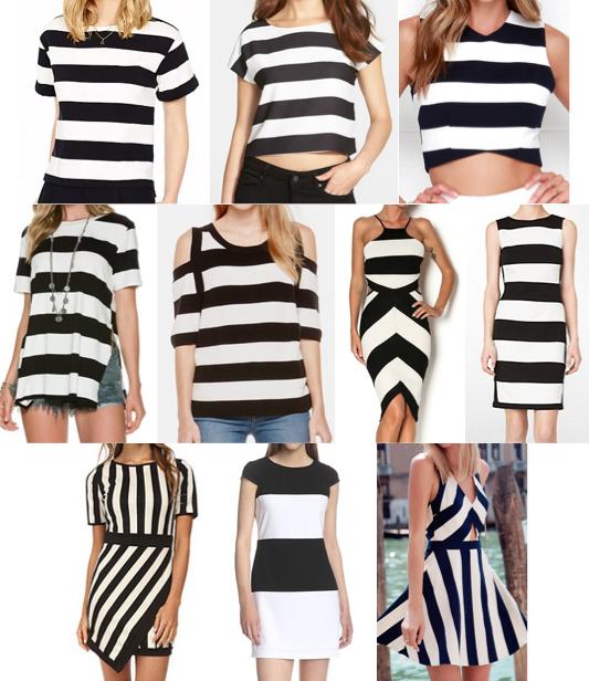Wide stripes under $100
