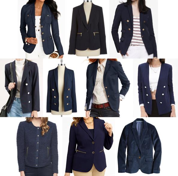 Navy jackets under $150