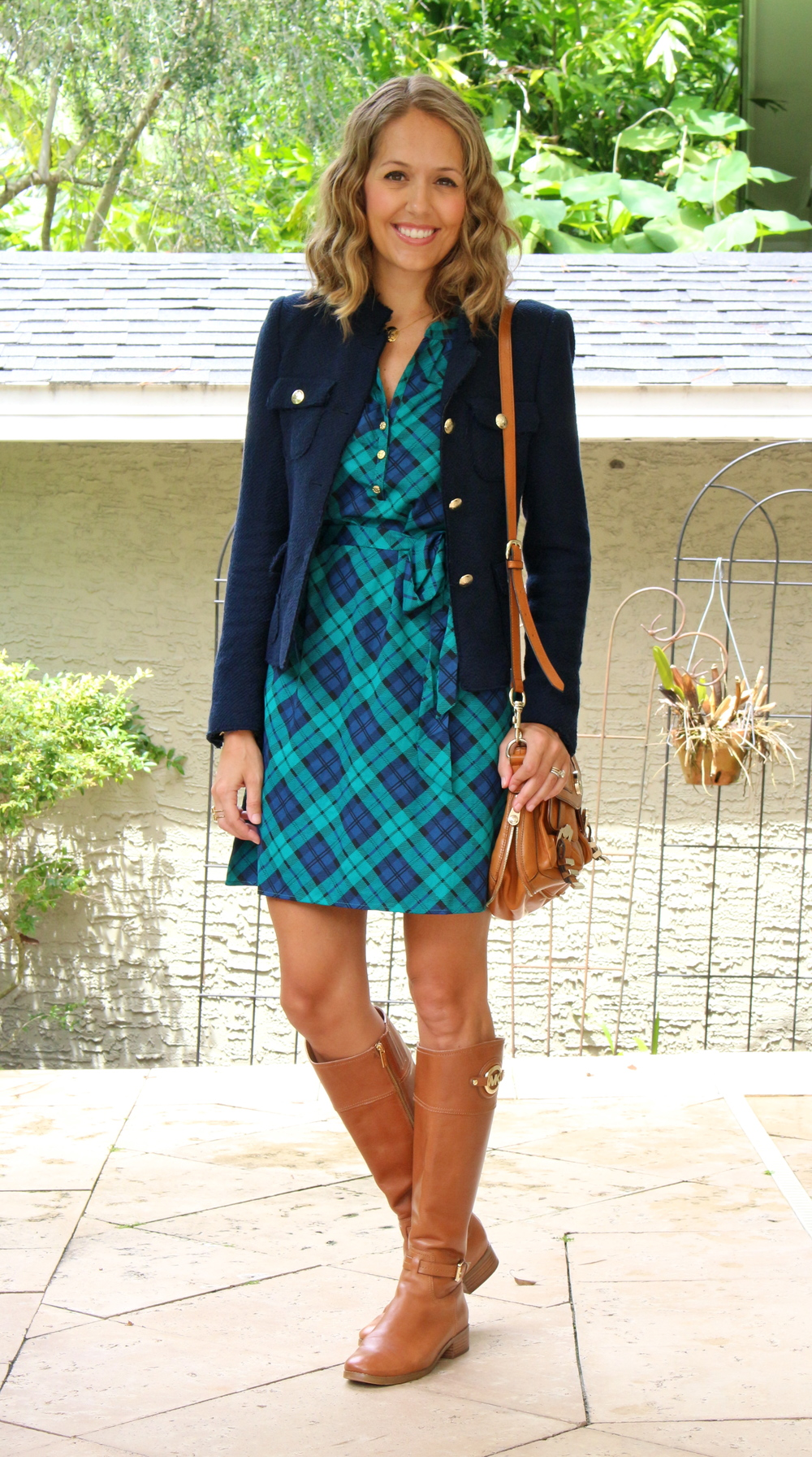 Mud PIe plaid dress
